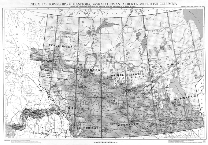 Map Of Canada With Latitude And Longitude.Convert Canadian Legal Land Description To Latitude And Longitude
