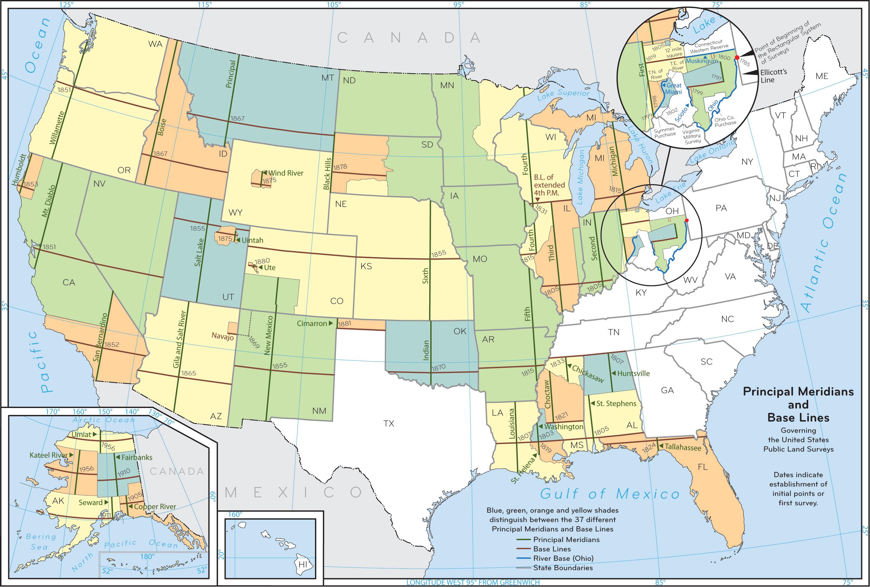 Public Land Survey System